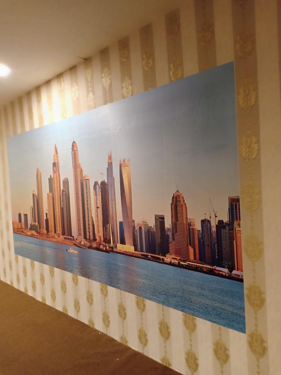 DUBAI giấy dán tường phòng game dio 14046