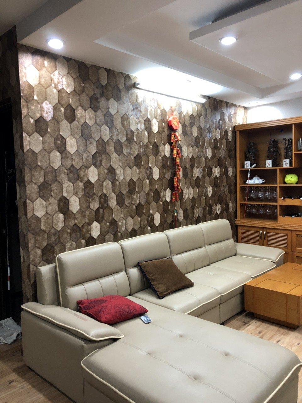 MIDA7013 3 giấy dán tường điểm nhấn phòng khách mida 7013 3