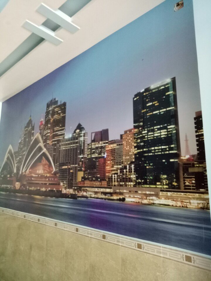 SYDNEY VE DEM tranh dán tường thành phố sydney về đêm