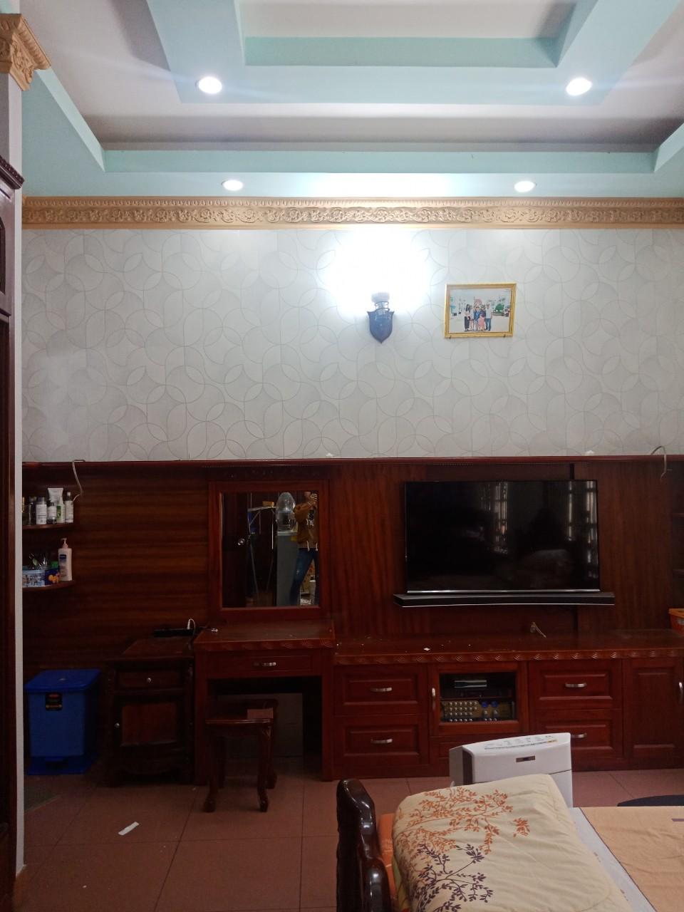 SOHO56118 1 giấy dán tường điểm nhấn phòng ngủ soho56118-1