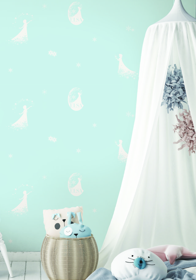 8d7a5cd71549f317aa58 Giấy Dán Tường Trẻ Em Elsa Dream World D5076-2
