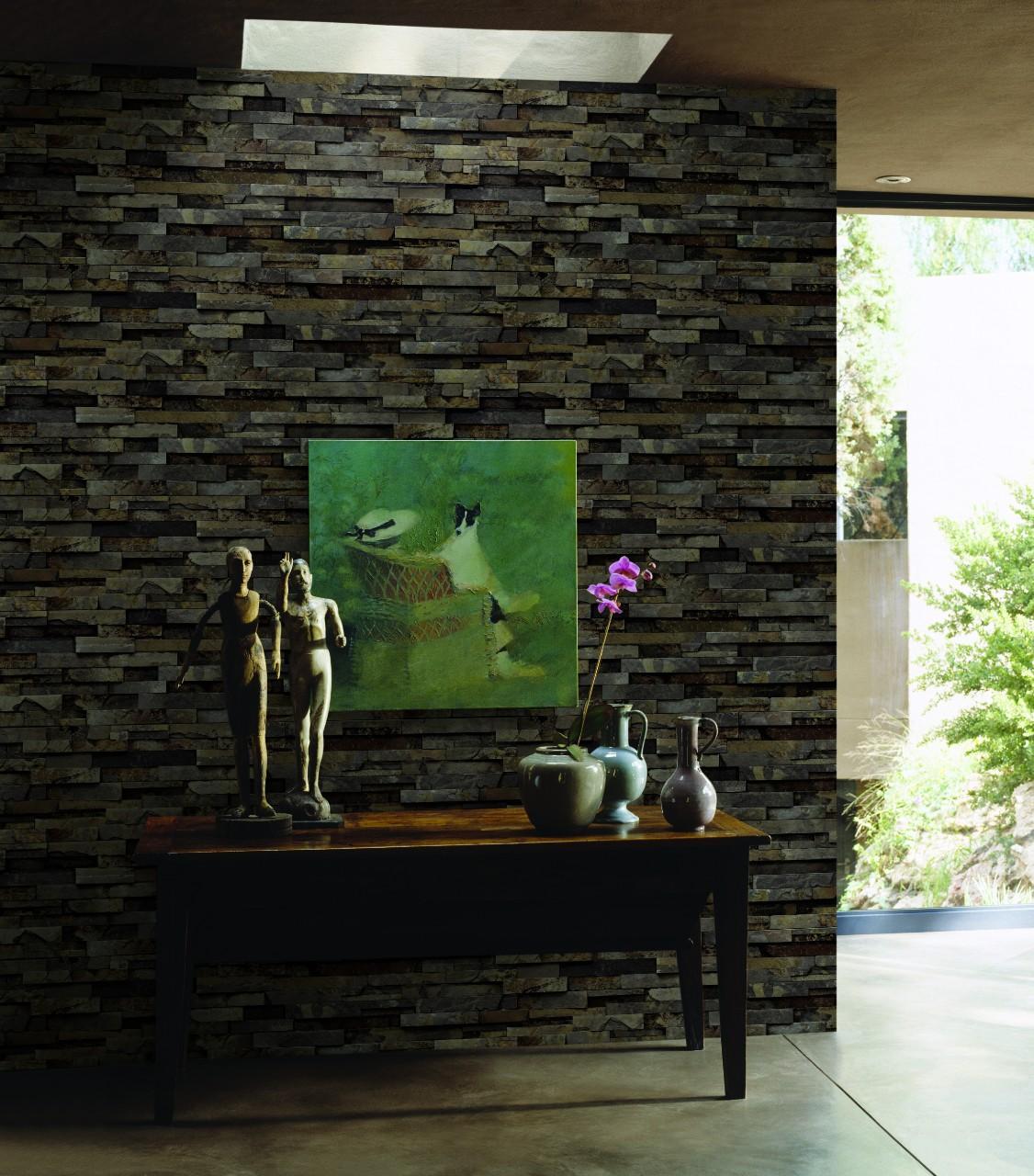 fe7e287935f4d3aa8ae5 1 Giấy Dán Tường Viên Đá 3D Stone&Natural 85011-2