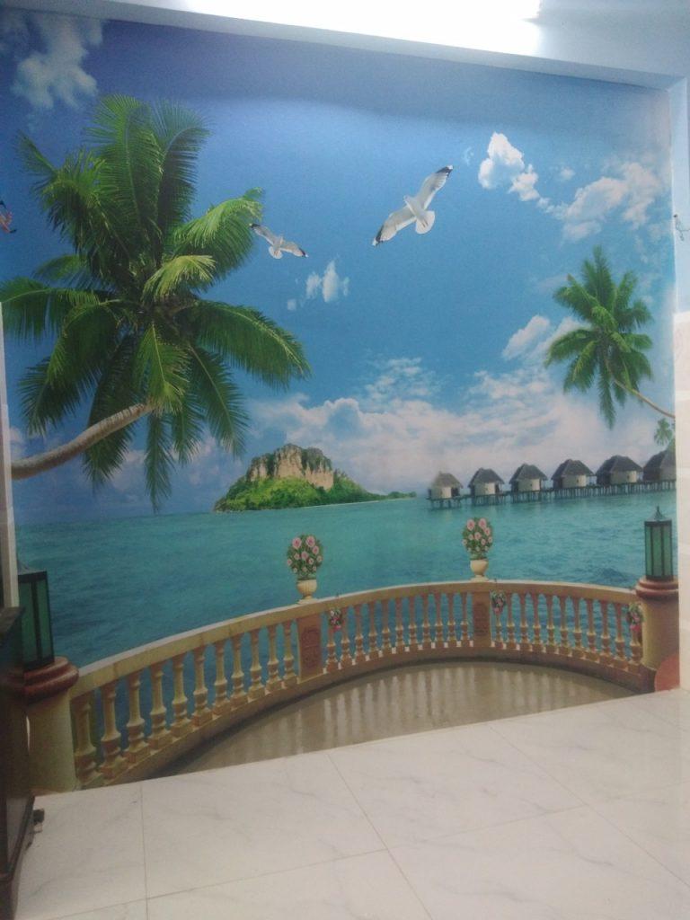 9b3eaa3e1981e1dfb890 4 Tranh Dán Tường 3D Ban Công Bãi Biển Chất Liệu Vải Canva Mực In UV Su Hướng Tranh In Hiện Nay Độ Bền Cao Và Màu Sắc Cực Nét Do Giấy Dán Tường Sài Gòn Á Đông Cung Cấp Và Thi Công