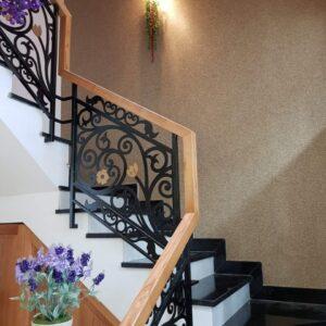Giấy dán tường cầu thang